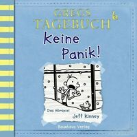 JEFF KINNEY - GREGS TAGEBUCH 6-KEINE PANIK!   CD NEW