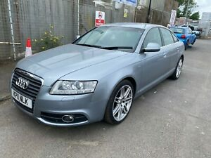 2011 AUDI A6 S LINE SPECIAL ED SILVER 2.0TDI MANUAL SALVAGE SPARES OR REPAIR