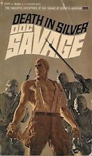 *DOC SAVAGE #26: DEATH IN SILVER  by Kenneth Robeson - 1st Paperback Printing