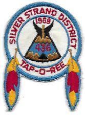 1969 Boy Scouts Silver Strand District Taporee Patch San Diego California Ashie