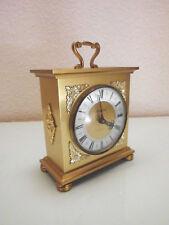 Tischuhr Staiger Kaminuhr Messing Quartz Uhr 16 cm