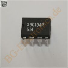 1 x x9c104p digitally-Controlled (xdcp) potenziometro Xicor dip-8 1pcs