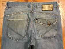ANALOG LEATHER LABEL JEANS ACTUAL SIZE 32 x 32 Tag 32 BEST D100u