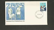 AUSTRALIA -1981 International Year of Disabled Persons  - FDC.