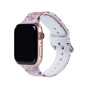 For Apple Watch Band Series 654321 Ladies Fashion Modern Sports Strap 38mm-44mm