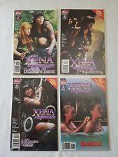 Xena Warrior Princess Topps Comics Blood Lines Dragon's Teeth Lot 1st Edition