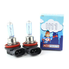 2x H11 Front Fog Light Bulbs - 55w Ultra Bright Tint Xenon HID Upgrade Pair