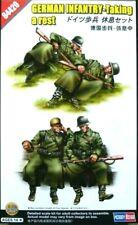 Hobbyboss 1:35 German Infantry Taking A Rest Figures WWII Era Model Kit