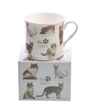 NEW Cat Breeds Fine Bone China PRINCESS Tea Coffee Mug Cup Bengal Siamese