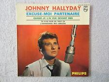 EP Single / Johnny Hallyday – Excuse-Moi Partenaire / 1964 / FRANCE PRESS / RAR