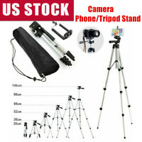 Adjustable Cell Phone Camera Tripod Stand Holder Mount for iPhone Samsung