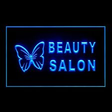 160009 BEAUTY SALON Nails Beauty Gorgeous Facial Display Neon Sign