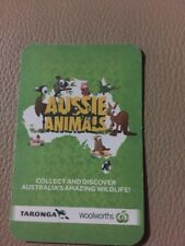 Woolworths Aussie Animals Card No. 67