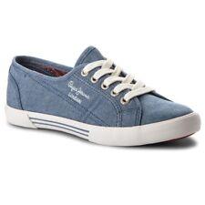 PEPE JEANS Hinter Eighty SHOE Schuhe PLS30646 520 Blau (UVP IN Shop