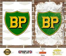 BP Metal Sign Garage Sign Wall Plaque Vintage Retro Man Cave Bar Shop