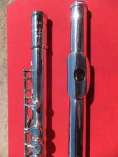 TAKUMI = ALTUS & MATEKI 600 -E- Vollsilber silver Querflöte flute flauta
