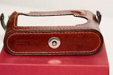 Leica M8, M9, M9P, M-E, M-monochrome leather case  - Arte di Mano