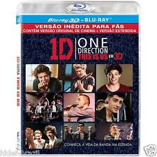 Blu-ray 3D One Direction: This Is Us [ Region ALL ] [ Brand New ]