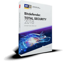 Bitdefender Total Security 2018 - 1 PC 1 Year (Central Account - eDelivery)