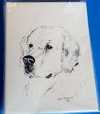 Labrador 10 Blank Greeting Cards Envelopes Set NEW FREE SHIPPING Dog Puppy Lab