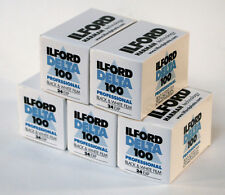 Ilford Delta 100 35mm 36 exp (5 Pack) Factory Fresh