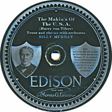Edison Disc - The Makin's of the U.S.A. / Washington crossed the Delaware - 1918