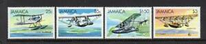 JAMAICA MNH 1984 SG596-599 SEAPLANES & FLYING BOATS