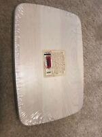 Longaberger LID for Media Basket  White #5096700 NEw In Wrap