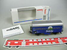 AJ57-0,5# Märklin H0/AC 4421 Güter-/Bierwagen Doppelbock/Andechs DB, NEUW+OVP