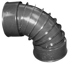 ADS 4-In Dia 90-Degree Corrugated Drainage Downspout Elbow 4-in Pipe Fittings