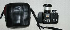 Minolta 1970's 110 Zoom SLR Camera with case.