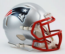 NEW ENGLAND PATRIOTS NFL Riddell Speed Mini Football Helmet