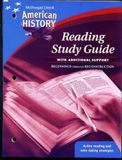 McDougal Littell Middle School American History: R