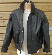 Vintage Aviator Flying Kit  A2 Style Flying / Jacket - Heavy Brown Leather -XL