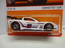 Hot Wheels CORVETTE C6R White REDLINE Series #17/18