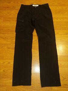 Mountain Khakis Men Cruiser Pants 32x32 Nylon Spandex Black Hiking B33