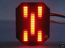 Knight Rider MINI Vbox Display - RED KARR LED VU-meter