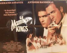 Antonio Banderas Armand Assante THE MAMBO KINGS(1992)  Original movie poster