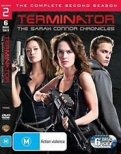 Terminator - The Sarah Connor Chronicles : Season 2 (Blu-ray, 2009, 5-Disc Set)