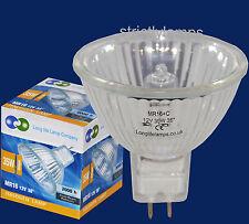 10x Mr16 35w larga vida bombillas halógenas 12v Mira