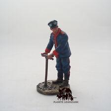 Figurine Del Prado plomb Sapeur Pompier Tenue de Feu Barcelone Espagne 1923