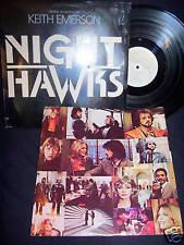 NIGHT HAWKS 1981 SOUNDTRACK VINYL LP HALF SPEED MASTERED N MINT! JAZZ!