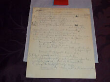 THE BEATLES HAND WRITTEN LYRICS TO LUCY IN THE SKY WITH DIAMONDS