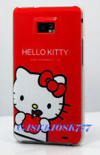 for samsung galaxy s2 i9100 and i777  hello kitty case red white sii / S II