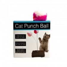 Cat Punch Ball Toy with Furry Base