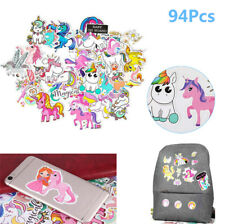 94pcs Pack Unicorn Vinyl Sticker Bomb Car Bag Bike Laptop Luggage Skate Phone
