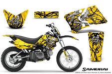 YAMAHA TTR90 CREATORX GRAPHICS KIT DECALS SAMURAI BY