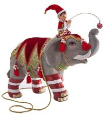 "Katherine's Collection LARGE 17"" Noel Elephant Christmas Display NEW 28-628118"