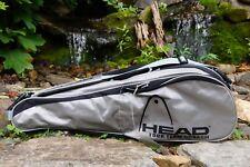 $100 Head Tour Team Squash Racket Bag + 2 Head Racket Cases - Holds 4 Rackets