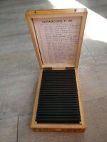 Rare Verascope F 40 stéréoscope 25 vues couleurs Italie , Saint Marin1952/ (2)